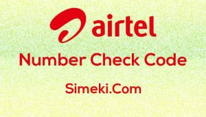 airtel number check
