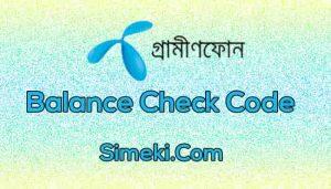 gp balance check