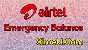 airtel emergency balance