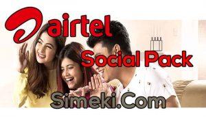 airtel social pack