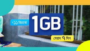 gp 1gb 11 taka offer