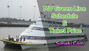 mv green line water bus schedule